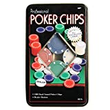 Funcart 100 Pcs Professional Poker Chips...
