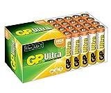 GP Batteries Ultra Alkaline 40x AAA–Batterien (Alkali, Zylindrische, 1.5V) grün, weiß