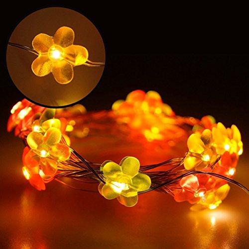 hterkette Kupferdraht USB LED Wasserdicht Deko für Haus Halloween Weihnachten Party Hochzeit Garten Weihnachtsbaum Innen- und Außen Beleuchtung (Niederspannung) (Halloween Haus)