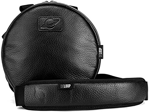 Orbit Concepts DELOOP DELUXE TRADITIONAL Universal HEADPHONE Carrying Bag/Case Made With 100% Genuine Nappa Leather, Fits Sennheiser, Sony, Audio Technica, all Beats by Dre and