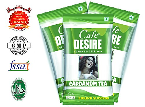 Cafe Desire Instant Tea Premix, 20 Sachets, 300g (Free 5 Sachets as Complimentary)  available at amazon for Rs.180