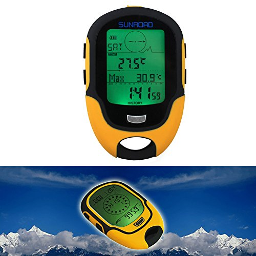 Foru-1 FR500 Multifunktions-Höhenmesser, digital, LCD, wasserdicht