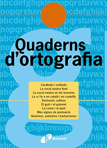 Quadern d'ortografia 12 (Català - Material Complementari - Quaderns D¿Ortografia) - 9788483049167