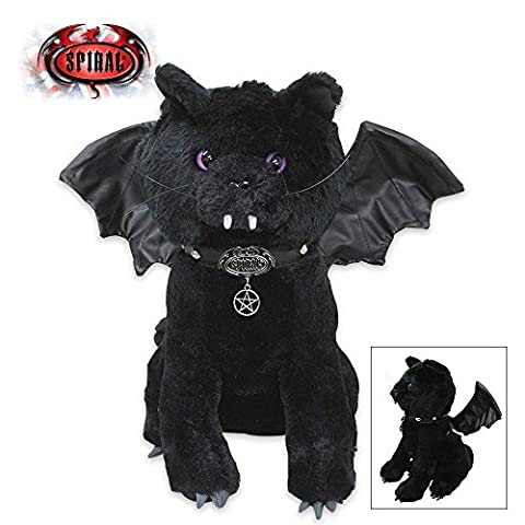Spiral Direct BAT CAT - Winged Collectable Soft Plush Toy