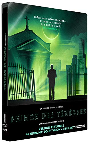 Image de Prince des ténèbres [4K Ultra HD + Blu-ray + Blu-ray bonus - Édition boîtier SteelBook]