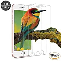 iPhone 7Plus 6SPlus 6Plus Screen Protector iPhone 8 Plus ,7Plus, 6SPlus, 6Plus Tempered Glass Screen Protector offer comfort in the hand and compatibility with most protective cases. 99.9% touch-screen accurate with [3D Touch Compatible]. 9H ...