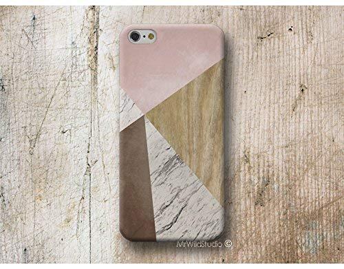 Rosa Holz Weiß Marmor Hülle Handyhülle für iPhone X XR XS MAX 4 4s 5 5se se 5C 5S 6 6s 7 Plus iPhone 8 Plus iPod 5 6 -