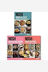 Nosh Quick & Easy Gluten-Free Recipes Cookbook Collection 3 Books Set, (Nosh Quick & Easy: Another, Refreshingly Simple Approach to Cooking from the May Family, Nosh Gluten-Free: A No-Fuss and NOSH Gluten-Free Baking: Another No-Fuss, Gluten Paperback