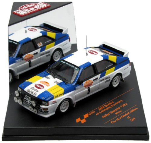 AUDI QUATTRO RALLY -1/43 VITESSE MODEL TOY CAR