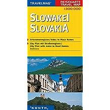 Cartes de voyage Slovaquie 1 : 300 000
