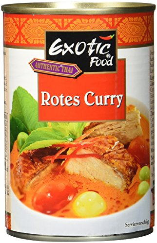 Exotic Food Rote Currysauce Fix plus Fertig, 400 ml