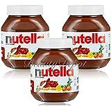Nutella Ferrero Hazelnut Chocolate Spread 750 g (Pack of 3)