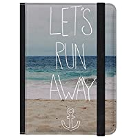 caseable Kindle and Kindle Paperwhite Case, Let's Run Away: Sandy Beach