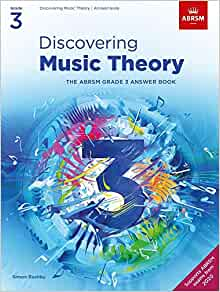 Discovering Music Theory, The ABRSM Grade 3 Answer Book    Partition – 8 octobre 2020