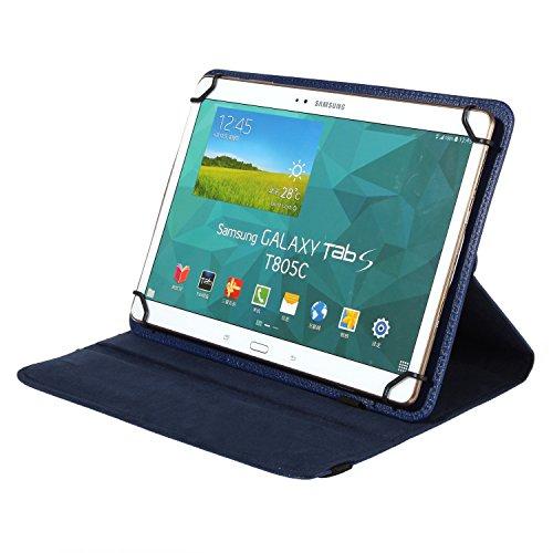 """Preisvergleich Produktbild BRALEXX Universal Tablet PC Tasche passend für TrekStor SurfTab wintron 10.1"""", 10 Zoll, Blau"""