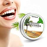Zahnbleachings Kokosnuss Aktivkohle Pulver, Mifine Natürliche Zahnaufhellung Zahnpasta - Activated Charcoal Powder Bleaching Teeth Whitening Zaehne bleichen 15g
