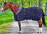 Back on Track therapeutische Netzgewebe Pferd Teppich - Schwarz, 145cm