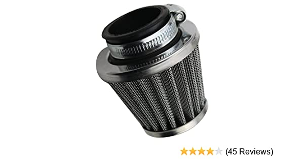 Gold 38 mm Universal-Motorrad-Ansaugluftfilter-Kit f/ür ATV Dirt Pit Bike-Motorrad-Luftfilter Ansaugluftfilter
