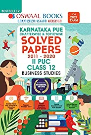 Oswaal Karnataka PUE Solved Papers II PUC Business Studies Book Chapterwise & Topicwise (For 2021 E