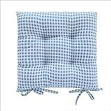 Zmsdt Gedruckt Moderne Leinen Bubble Pad Küche Bürostuhl Kissen Esszimmer Boden Sitzkissen Matte (Farbe : A)