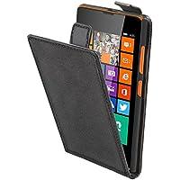 muvit Slim S - Funda para Nokia Lumia 630 / 635, color negro