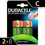 Duracell Recharge Ultra Batterie Ricaricabili, Tipo C, 3000 mAh, Confezione da 2