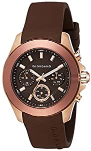 Giordano Analog Brown Dial Men's Watch - 1760-06