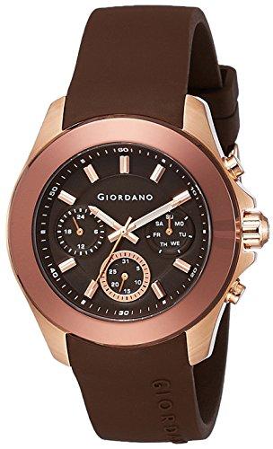 51 5d%2BiKj9L - Giordano 1760 06 Brown Mens watch
