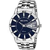 Bigowl Analogue Blue Dial Day And Date Displaying Boys And Men Wrist Watch -Bobasic-02-Men