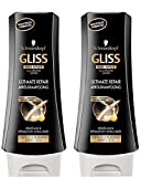 Schwarzkopf - Gliss - Après-Shampooing - Ultimate Repair - Flacon 200 ml - Lot de 2