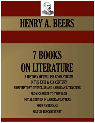 7-books-on-literature-a-history-of-english-romanticism-in-the-xviii-century-xix-century-brief-histor