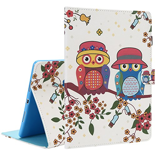Guard Bumper Ipad (TOROTON Hülle iPad Pro 10,5'', Smart Case Cover Bumper Slim Fit Guard Anti-Scratch Stoßfänger Mit Schließen Magnetische Unterstützung Automatischer Standby-Modus für Apple iPad Pro 10,5''(Owl))