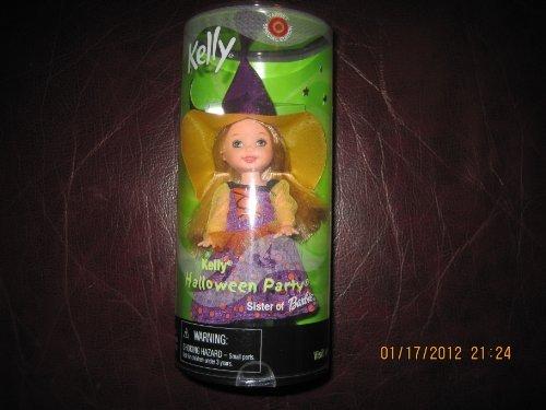 Barbie - KELLY Club Halloween Costume Party Kelly the Witch, Kelly Li'l Friends Doll (Kelly Barbie Halloween Und)