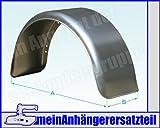 Metall Blech Schutzblech Kotflügel 220x750mm / 22x75 cm für Pkw Anhänger