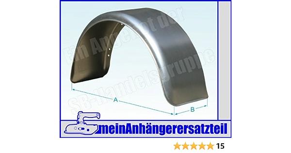 Metall Blech Schutzblech Kotflügel 220x750mm 22x75 Cm Für Pkw Anhänger Auto