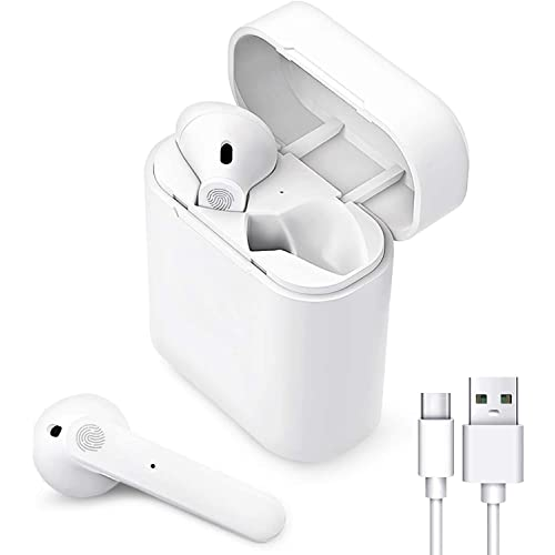 Cuffie Bluetooth,Auricolare Bluetooth Senza Fili,24h Playtime 3D stereo HD Cuffie Wireless,Cuffie In-Ear,Controllo Touch,Adatto Compatibile con iPhone/Android/Samsung/Huawei