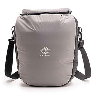 Aqua Quest COOL CAT Waterproof Padded Dry Bag 12L Grey for Camera, Electronics, Travel, Accessories