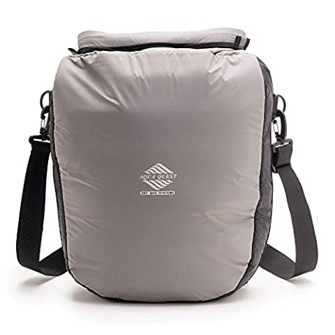 Aqua Quest Cool Cat Padded Thermal Dry Bag - 100% Waterproof - 12 L - Grey