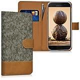kwmobile Samsung Galaxy A5 (2017) Hülle - Kunstleder Wallet Case für Samsung Galaxy A5 (2017) mit Kartenfächern und Stand