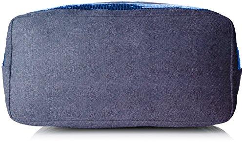 Le Temps des Cerises Damen Glitter 5 Tote, 18.5x38x35 centimeters Blau (Bleu)