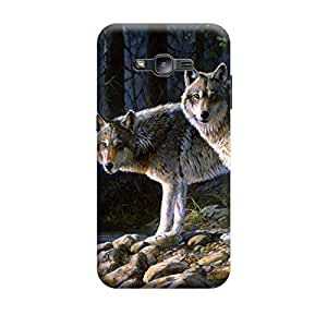 CaseLite Premium Printed Mobile Back Case Cover With Full protection For Samsung J2 (Designer Case)