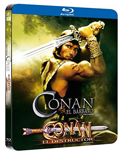 Pack Conan 1+2¿ Black Metal Edition Blu-Ray [Blu-ray]