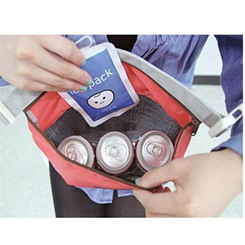 Longra Longra caldo Rosso Lunch Moda Moda Bag 8RwPqwx