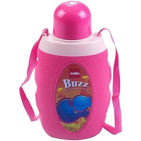 Bottiglia Violoncello Buzz acqua, 1,5 litri, Rosa
