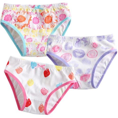 Vaenait Baby Kleinkind Kinder Madchen Unterwasche Slips 3-Pack Set Sunflower L