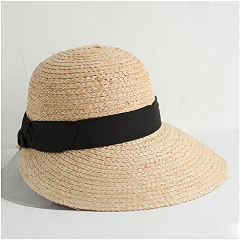NAN Cappello di Paglia Donna Estate Spiaggia Vacanza Spiaggia Vacanza  Spiaggia Sole Cappello Mare Viaggio Sun Cappello Bacino Pescatore... Parent  5fbeef aee79faa1283