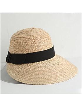 NAN Sombrero de Paja Femenino Pl