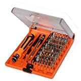 LUCKFUN Magnetische Schraubendreher Set ,45 in 1 mit 45 Bits Magnetische Schraubenzieher Set, für elektronische Kleingeräte (Handy, Tablet, PC, Macbook, Uhr etc.)