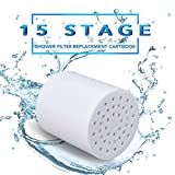 Duschfilter Shower Filter Wasserfilter Enthärter Badinstallationen (Shower Filter Cartridge-15 Bühne)