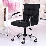 Chen- Home Office Computer Chair Sedia girevole Boss Chair Lift Chair Libertà di apprendimento Sedia da computer Chair Sipi ( Colore : Nero )